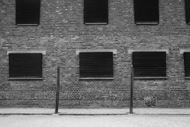 Non succede nulla Le finestre oscurate del blocco 10 che si affacciano nel cortile recintato. Nessuno doveva vedere, nessuno doveva sapere quello che avveniva. Tutto poteva essere negato.