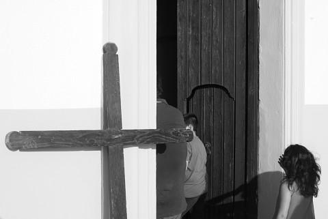 Processione del migrante, Craco, Chiesa Santa Maria della Stella - Basilica 2014