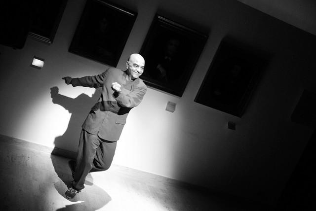 L'ARTE DEI MIRACOLI. Interviste impossibili ai grandi mecenati.  Spettacolo di di Lorenzo Pizzanelli. Con Ugogiulio Lurini