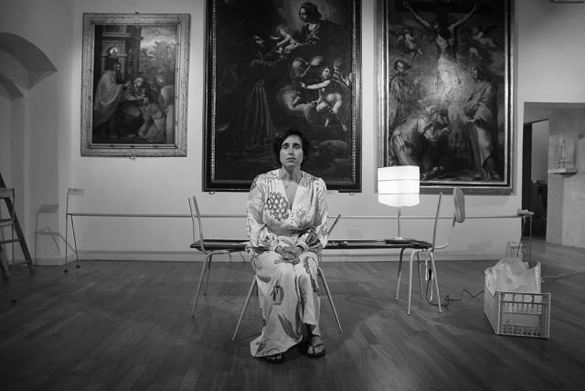 SAKROS. Misteri Terreni - Con Silvia Signori Regia di Giuliano Lenzi Allestimenti di Daria Analisi. Misteri Terreni